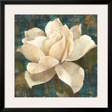 Gardenia Blossom Turquoise Posters by Albena Hristova