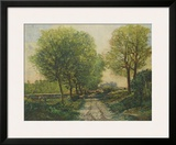 The Avenue Prints by Alfred Sisley