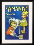 L'Amande Savon Print