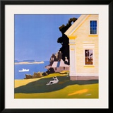 Island Farmhouse, 1969 Prints by Fairfield Porter