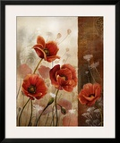 Wild Poppies II Print by Conrad Knutsen