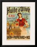 Huile D'olive Prints