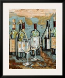 Wine II Poster by Heather A. French-Roussia