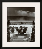 The Greatest Generation D-Day Landing Omaha Beach June 6, 1944 Poster by Robert F. Sargent