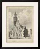Eglise de St. Etienne-Du-Mont Poster by A. Pugin