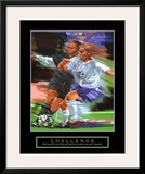 Challenge: Soccer Prints by Bill Hall