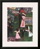 Church Picnic (detail) Prints by Faith Ringgold