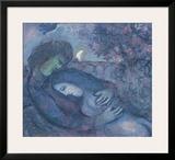 Traum der Liebenden Prints by Marc Chagall