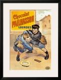 Chocolat Pailhasson Lourdes Prints