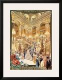Paris, Theatre de l'Opera Prints