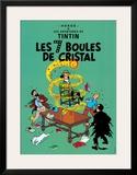 Les 7 Boules de Cristal, c.1948 Print by  Hergé (Georges Rémi)