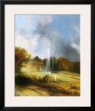 The Castle Sanssouci Prints by Karl Blechen