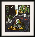 Sleeping Girl Prints by Oskar Kokoschka