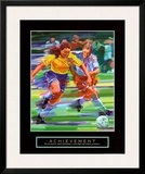Achievement: Soccer Poster by Bill Hall