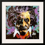 Einstein Poster by David Garibaldi