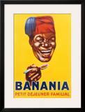 Banania Petit Dejeuner Familial Print