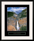 Values: Takakkaw Falls Print by Dermot Conlan
