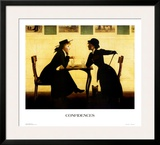 Confidences Prints by Harry W. Watrous