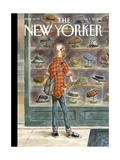 Top Choice - The New Yorker Cover, October 28, 2013 Premium Giclee Print by Peter de Sève