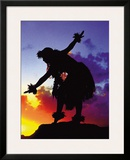 Red Sunset, Maui, Hawaii Framed Giclee Print by Ronald Laes