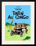 Tintin au Congo, c.1931 Prints by  Hergé (Georges Rémi)