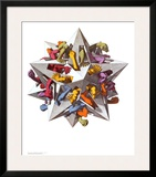 Gravity Prints by M. C. Escher