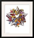 Gravity Prints by M. C. Escher
