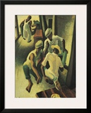 The Crapshooters Prints by Thomas Hart Benton