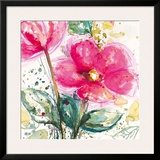 Pink Flower I Posters by Lilian Scott