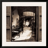 Caffe' Spello Prints by Alan Blaustein