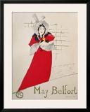 May Belfort Prints by Henri de Toulouse-Lautrec