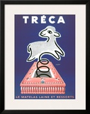 Treca Prints by Raymond Savignac