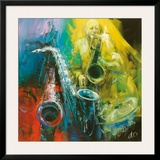 Jazz Time Prints by Antonio Massa