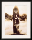 Young Duke Kahanamoku, Honolulu, Hawaii Framed Giclee Print