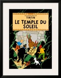Le Temple du Soleil, c.1949 Prints by  Hergé (Georges Rémi)