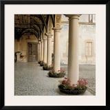 Villa Portico No. 1 Prints by Alan Blaustein