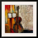 Violincello Framed Giclee Print by  Giovanni