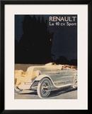 Renault La 40 Cv Sport Prints