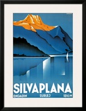 Silvaplana Poster by Johannes Handschin