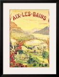 Aix-Les-Bains Posters by L. Gadoud