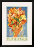 Monte-Carlo, France, c.1945 Framed Giclee Print by Jean-Gabriel Domergue