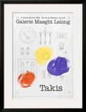 Galerie Maeght Lelong Poster by Vassilakis Takis