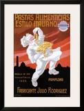 Pastas Alimenticias Estilo Italiano Prints