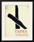 Expo Galerie Maeght 67 Print by Antoni Tapies
