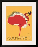 Saharet - Dance Performance Advertisement, c.1902 Framed Giclee Print by Maurice Biais