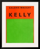 Galerie Maeght, 1964 Posters by Ellsworth Kelly