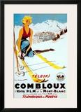 Teleski Combloux Posters by  Ordner