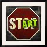 Start Framed Giclee PrintDaniel Bombardier