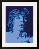 Mick Print by Peter Marsh