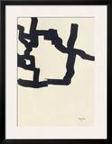 Collage Posters by Eduardo Chillida